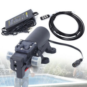 12v Dc Misting Pump 160psi High Pressure Booster Diaphragm Water Pump Sprayer