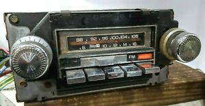 Works 73 77 Chevy Pontiac Oldsmobile Buick A Bod Am fm Stereo 8 Track Tape Radio