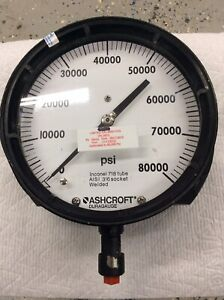 Ashcroft 0 To 80000 Psi Gauge