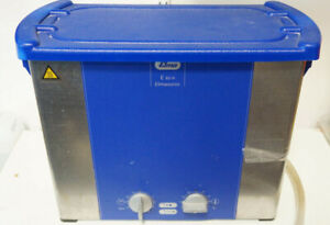 Elmasonic E60h 60h 6 quart 1 5 Gal Ultrasonic Cleaner A1 Tech Solution Used