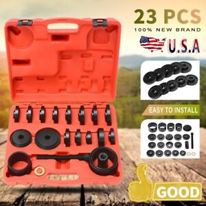 Front Wheel Hub Drive Bearing Removal Install Service Tool Set Master Set 23pc