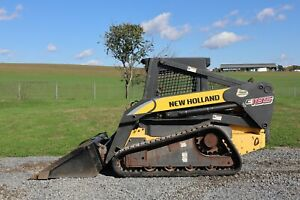 2006 New Holland C185 Orops Hydraulic Quick Attach 2 Speed 84 Bucket