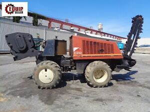 2006 Ditch Witch 410sx Diesel Walk Behind Trencher Cable Plow