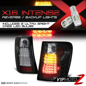 High power Reverse Led Tail Lamps For 99 04 Jeep Grand Cherokee Laredo limited