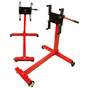 Portable 1000 Lbs Mobile Engine Stand Dolly Cart 360 Degree Rotating Heavy Duty