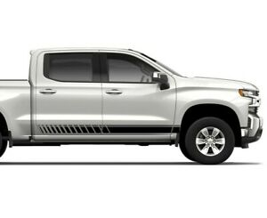 2 Decal Sticker Light Kit For Chevrolet Silverado High Country Rear Tail Mirror