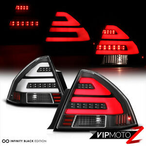 Black 06 13 Chevy Impala C Shape Led Neon Tube Tail Light Brake Lamp Left Right