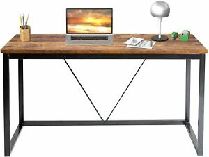 Computer Desk Pc Laptop Table 55 In Study Workstation Wood Home Office Furniture