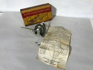 1934 1948 Plymouth Dodge Desoto Chrysler Nos Mopar Underhood Side Light 34 48