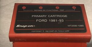 Snap On Mt2500 1293 Primary Cartridge Ford 1981 93
