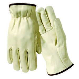Wells Lamont Y0123 Unlined Cow Leather Drivers Glove Large 12 Pairs