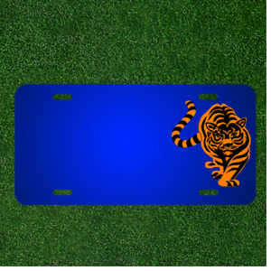 Custom Personalized Car License Plate With Add Names To Cheetah Tiger Design New