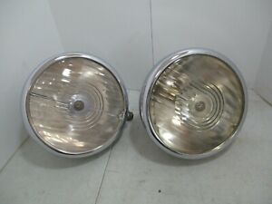 Lucas L165 S Headlights Rolls Royce 20hp 20 25 Bentley Aston Martin Lagonda