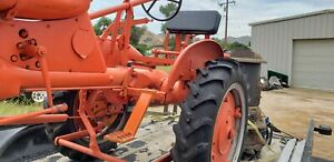 Allis Chalmers Old Tractor Believe To Be 1948