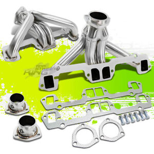 For Chrysler plymouth dodge 318 340 360 V8 Small Block Exhaust Manifold Header