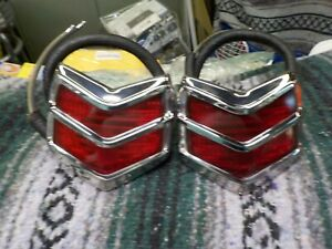 1940 Ford Tail Lights Pair New Hot Rod Rat Rod Oem Original Stock Style Coupe