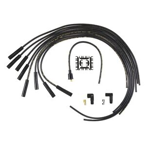 Accel 4040k Universal Fit Spark Plug Wire Set 8mm Straight Boots