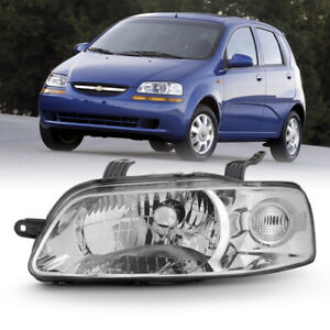 04 06 Chevy Aveo factory Style Direct Fit Replacement Headlight Left driver