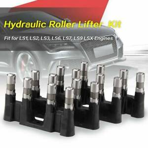 Hydraulic Roller Lifters Set 16 4 Trays Guide For Chevy 5 3 5 7 6 0 Ls1 Ls2 Ls7