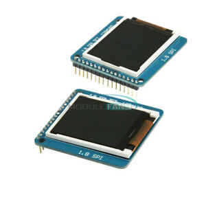 1 8 Spi Tft Lcd Serial Module Display Pcb Adapter Power Ic Sd Socket 128x160
