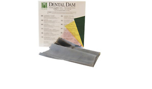 Hygenic Ready Cut Latex Rubber Dams Medium 6 X 6 36 box