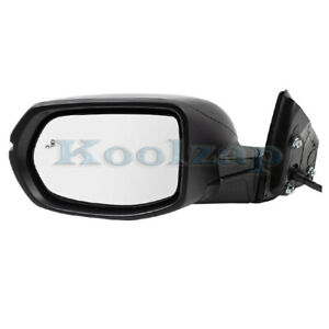 For 17 19 Cr v Rear View Mirror Power Heat W signal Lamp Blind Spot Left Side