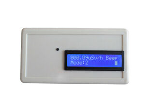 Digital Beta Gamma X ray Meter Tester Geiger Counter Nuclear Radiation Detector
