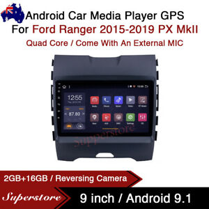 9 Android 9 1 Car Stereo Non Dvd Player Gps Head Unit For Ford Ranger 2015 2019