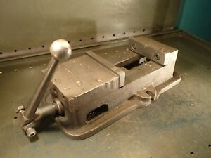 Kurt Anglock D60 1 Mill Milling Vise 6 Wide Jaws Opens 6 1 8 With Handle Usa