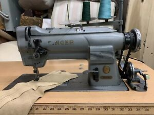 The Singer Co Singer 212 G 141 Industrial Sewing Machine