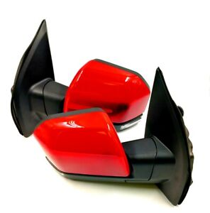 15 18 F150 Painted Race Red Side Mirror Power Heated Signal Puddle Light 22 Pin