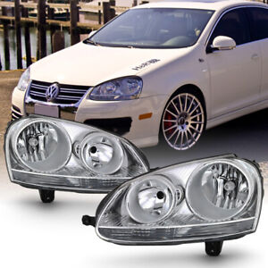 For 06 09 Vw Gti jetta rabbit Headlight Left right Side Replacement Driving Lamp