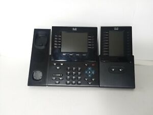 Cisco Cp 9951 Voip Phone With Cp ckem expansion Module 061