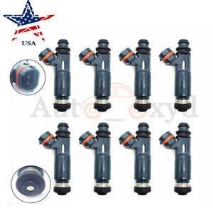 8x Fuel Injectors Nozzle For 2000 01 02 03 04 Toyota Tundra 4 7l V8 23250 50040