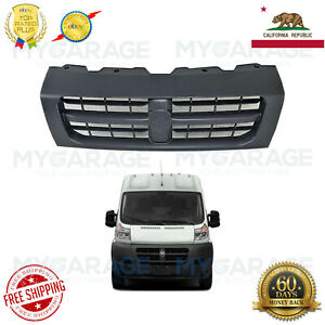 Upper Front Grille Grill Radiator For 14 18 Dodge Ram Promaster 1500 2500 3500
