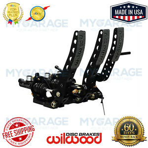 Wilwood Brake Clutch And Throttle Pedal w o Throttle Link Pedal 340 12410
