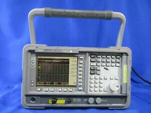 Agilent N8973a Noise Figure Analyzer With Option 1d5 10 Mhz To 3 0 Ghz