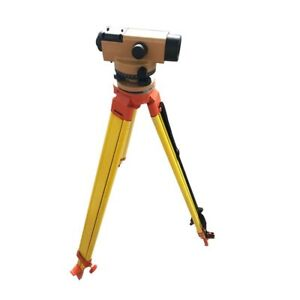Techtongda 32x Automatic Dumpy Level tripod 5m Staff With Beautiful Carry Case