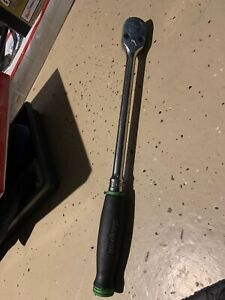 Snap On Shl80a 1 2 Drive Soft Grip Long Handle Ratchet Green Used