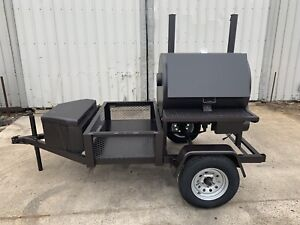Semo Smokers Llc 30 x36 Rotisserie Smoker With Trailer