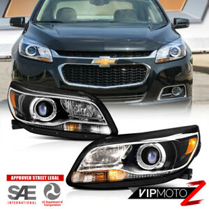 Factory Style 13 15 Chevy Malibu Hid Model Left Right Headlight Lamp Assembly