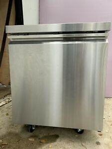Stainless Steel Under Counter Restaurant Grade Fridge 27 Wide