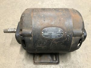 Montgomery Ward Electric Motor 1 2hp 1750rpm 110vac Vintage Wood Jointer Planer