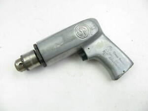Chicago Pneumatic Cp787 Air Drill 3 8 Jacobs Chuck 1800 Rpm Made In Usa