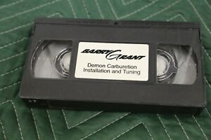 Barry Grant Demon Carburetor Install And Tuning Video Vhs