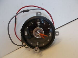 1954 1955 Oldsmobile Clock Serviced Tested And Working