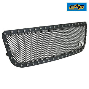 Eag Fit 99 03 Ford F150 Black Grille Rivet Steel Wire Mesh Insert