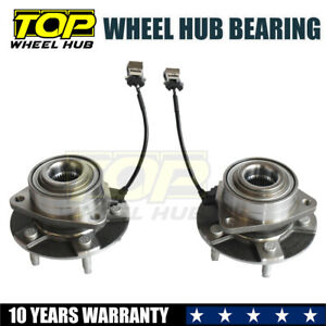Pair Front Wheel Bearing Hub 2002 07 Chevy Equinox Pontiac Torrent Saturn Vue