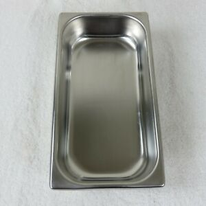 Vintage 50s Stainless Steel Hotel Food Pan Steam Buffet 2 3 4 Qt Made In Usa
