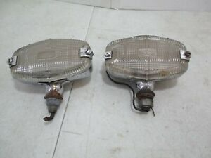 Lucas 6 Fog Lights Rolls Royce Silver Wraith Dawn Bentley Mark Vi